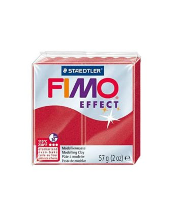 phlos fimo effect metalic red 028 tetragono