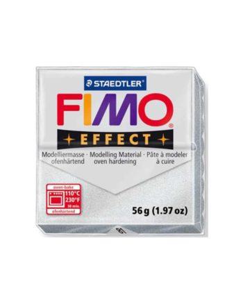 phlos fimo effect metallic silver 081 tetragono