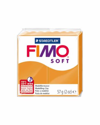 phlos fimo soft sunny orange 041 tetragono
