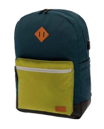 63159e4e31 Τσάντα POLO Reflective Μπλε-Λαχανί 9-01-244-20