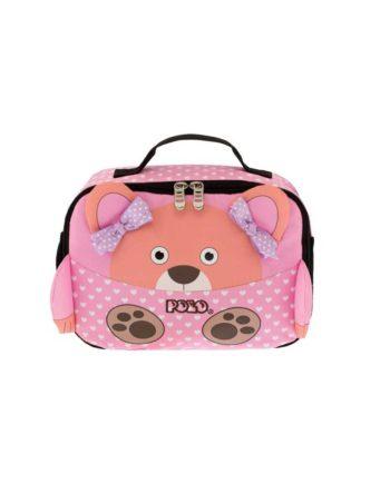 tsantaki faghtou polo lunch box animal pink bear 9 07 123 74 tetragono 1
