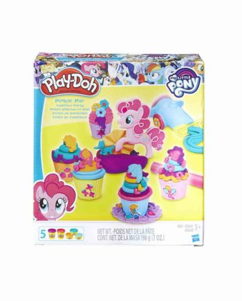 plastelini pony pinkie pie cupcake party play doh hasbro 819 93240 tetragono