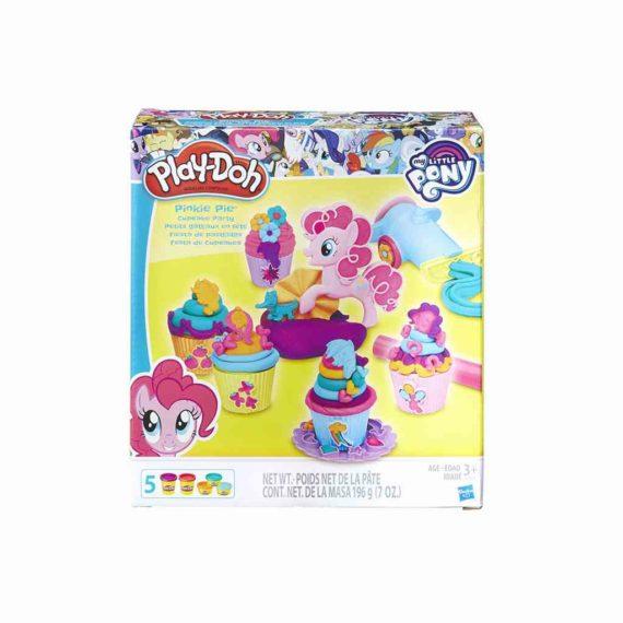 plastelini pony pinkie pie cupcake party play doh hasbro 819 93240 tetragono