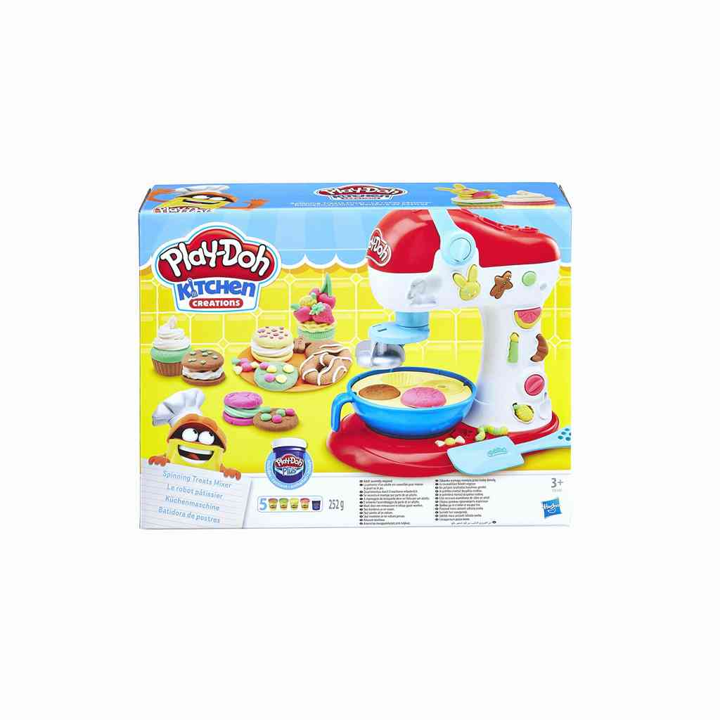 plastelini spinning treats mixer doh hasbro 819 01020 tetragono