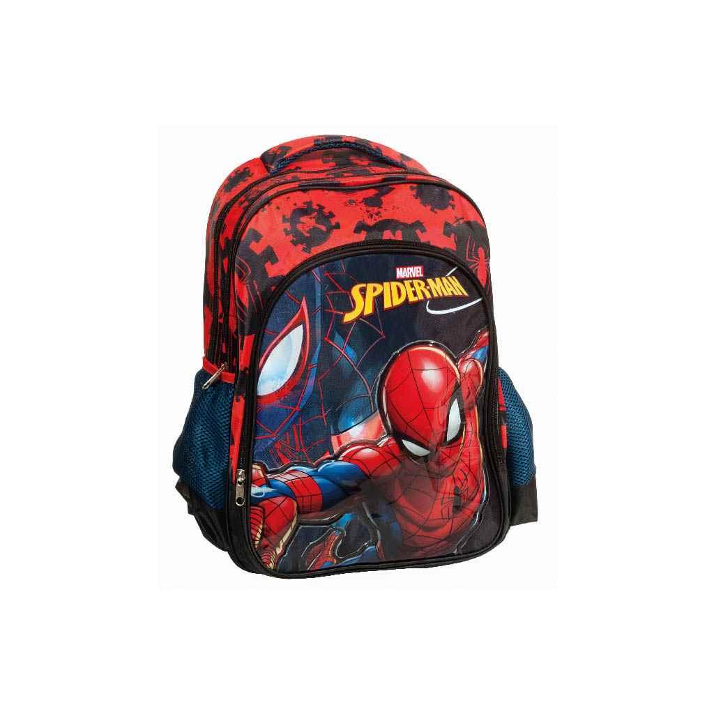 bd5f95491a9 Τσάντα Δημοτικού GIM Spiderman Black 337-70031- Βιβλιοπωλείο Τετράγωνο