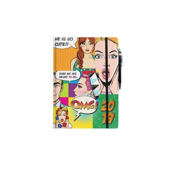 imerologio imerisio palmare pop art tetragono 2
