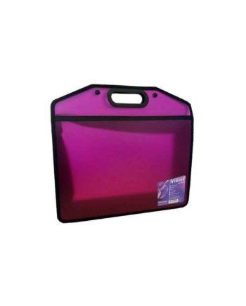 portfolio folder a4 erichkrause 15425 violet tetragono 1