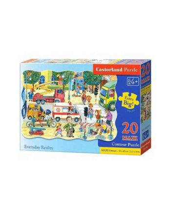 puzzle castorland 02238 1 everyday reality tetragono 1