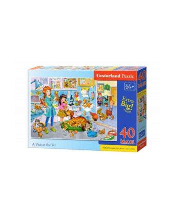 puzzle castorland 0401861 visit at the vet tetragono 1