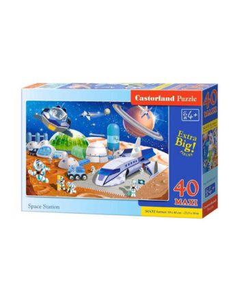 puzzle castorland 040230 space station tetragono 1