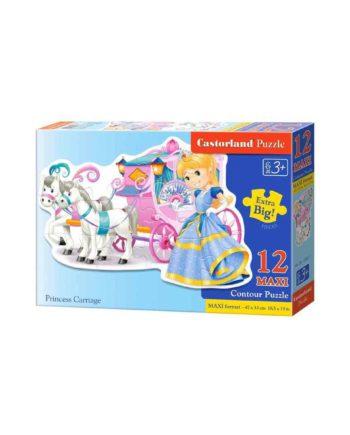 puzzle castorland 120017 princess carriage tetragono 1