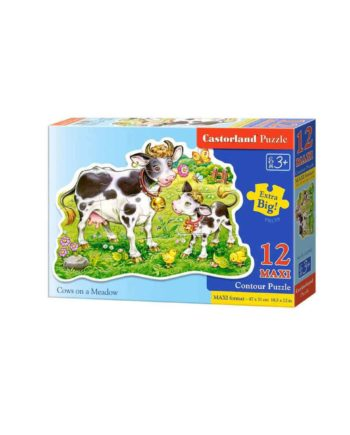 puzzle castorland 120062 cows on a meadow tetragono 1