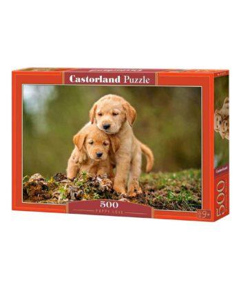 puzzle castorland 52271 puppy love tetragono 1