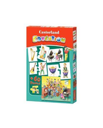 puzzle castorland education instrumental tetragono 1