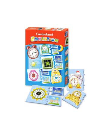 puzzle castorland education time tetragono 1