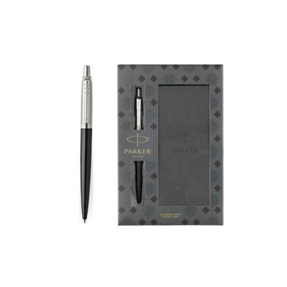 set parker tower grey diagonal jotter ballpoint notepad 1171.1113.02 tetragono 1