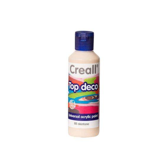 acrylic paint creall top deco 85 skintone 80ml tetragono 1