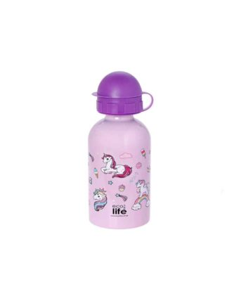pagouri ecolife unicorn 400ml tetragono 1
