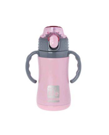 thermos kids ecolife 300ml pink tetragono
