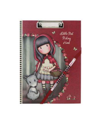 Ντοσιέ με πιάστρα Α4 GORJUSS Little Red Riding Hood 854GJ012
