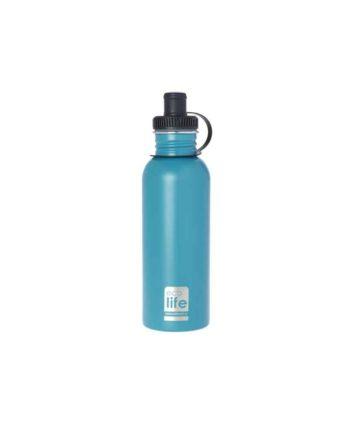 Μεταλλικό Ανοξείδωτο Μπουκάλι ECOLIFE Aqua 600ml