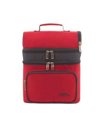 Ισοθερμική Τσάντα Φαγητού POLO Double Cooler Κόκκινο 9-07-096-03 2019