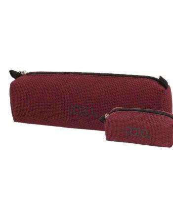 Κασετίνα POLO Knit Style Μπορντώ 9-37-006-73 2019