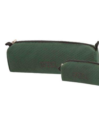 Κασετίνα POLO Knit Style Σκούρο Πράσινο 9-37-006-72 2019