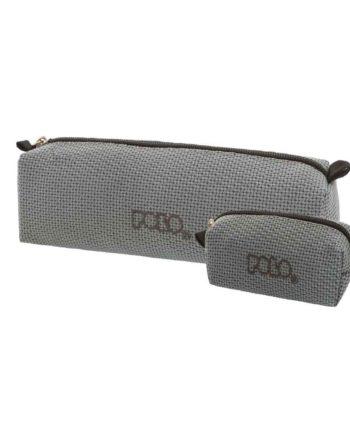 Κασετίνα POLO Knit Style Γκρι 9-37-006-71 2019