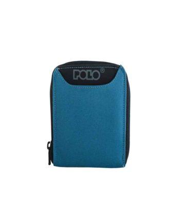 Πορτοφόλι POLO Wallet Zipper Μπλε 9-38-108-05