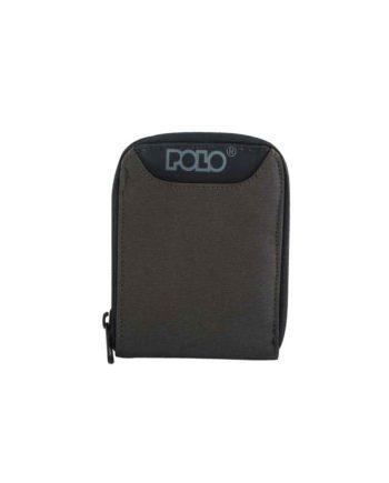 Πορτοφόλι POLO Wallet Zipper Λαδί 9-38-108-07