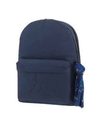 Τσάντα POLO 2 θήκες Μπλε 9-01-235-05 2019