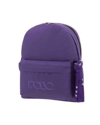 Τσάντα POLO 2 θήκες Μωβ 9-01-235-13 2019
