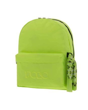 Τσάντα POLO 2 θήκες Fluo Πράσινο 9-01-235-27 2019