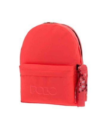 Τσάντα POLO 2 θήκες Fluo Πορτοκαλί 9-01-235-26 2019