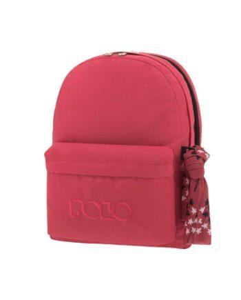 Τσάντα POLO 2 θήκες Φούξια 9-01-235-46 2019