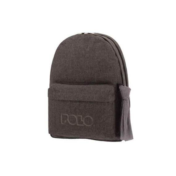 Τσάντα POLO 2 θήκες Jean Style Γκρι 9-01-235-80 2019