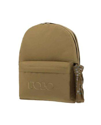 Τσάντα POLO 2 θήκες Λαδί 9-01-235-07 2019