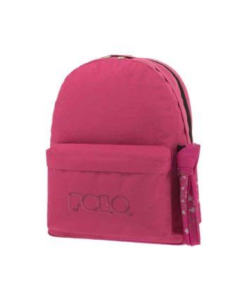 Τσάντα POLO 2 θήκες Ροζ 9-01-235-29 2019