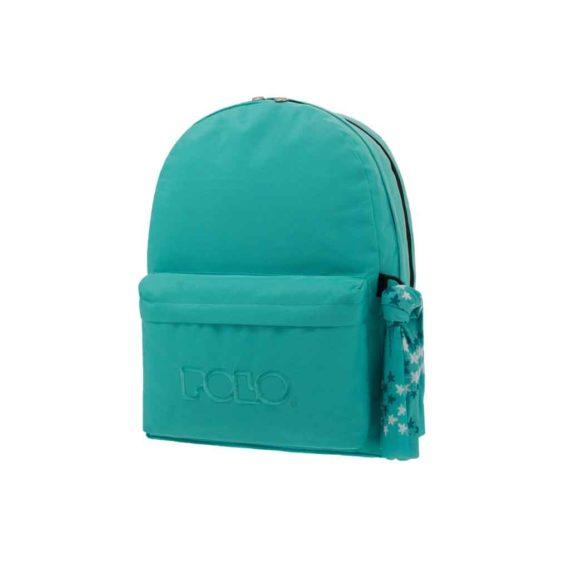 Τσάντα POLO 2 θήκες Τιρκουάζ 9-01-235-25 2019