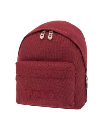 Τσάντα POLO Mini Knit Μπορντώ 9-07-961-73