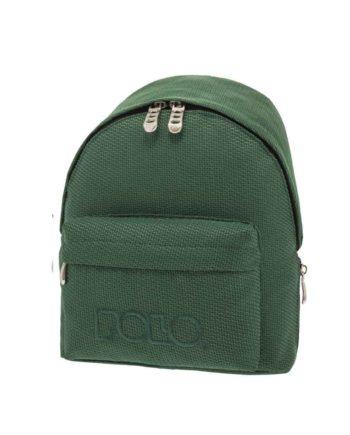 Τσάντα POLO Mini Knit Σκούρο Πράσινο 9-07-961-72