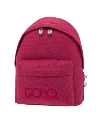 Τσάντα POLO Mini Knit Φούξια 9-07-961-74