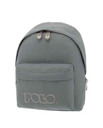 Τσάντα POLO Mini Knit Γκρι 9-07-961-71