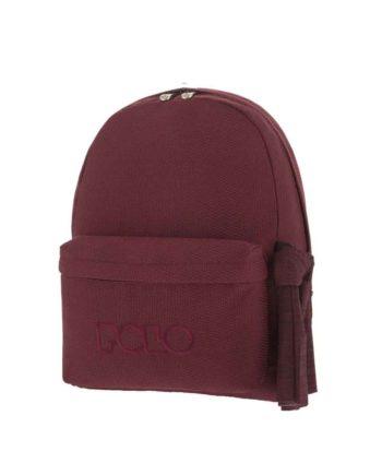 Τσάντα POLO Knit Style Μπορντώ 9-01-235-73 2019