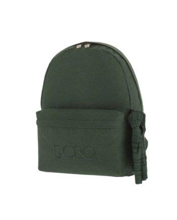 Τσάντα POLO Knit Style Σκούρο Πράσινο 9-01-235-72 2019