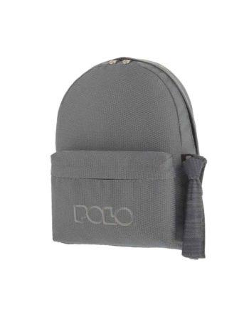Τσάντα POLO Knit Style Γκρι 9-01-235-71 2019