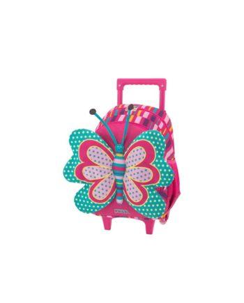 Τσάντα Τρόλεϊ Νηπιαγωγείου POLO New Animal Butterfly 9-01-008-61