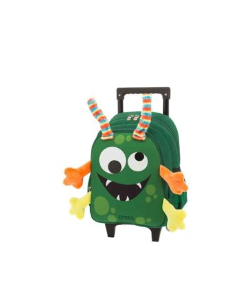 Τσάντα Τρόλεϊ Νηπιαγωγείου POLO New Animal Monster 9-01-008-63