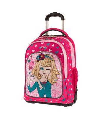 d231cccc24 Τσάντα Τρόλεϊ POLO Troller Girl 9-01-251-73